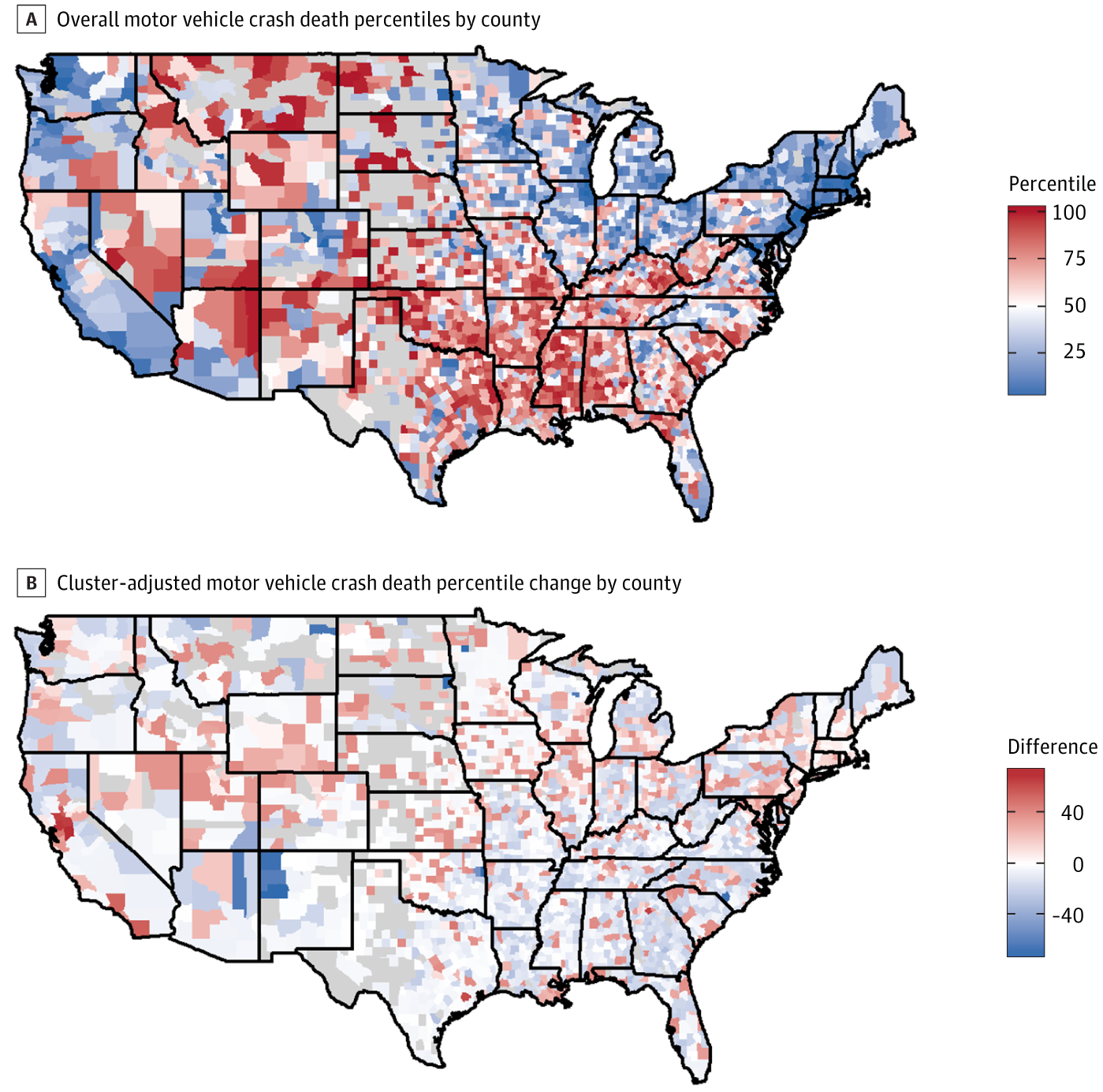 Comparison of US County-Level Public Health Performance Rankings ...